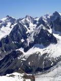 mont blanc 3 region Fotografia Royalty Free