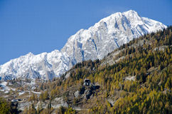 Mont Blanc Στοκ φωτογραφία με δικαίωμα ελεύθερης χρήσης