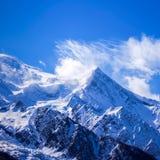 Mont Blanc. Immagini Stock