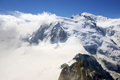 Mont Blanc Στοκ εικόνες με δικαίωμα ελεύθερης χρήσης