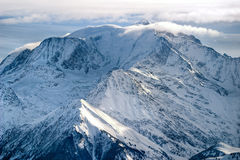 Mont Blanc. Landscape, Alps, France stock images