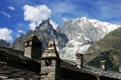 Mont Blanc Fotografie Stock