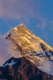 Mont Blanc Lizenzfreies Stockbild