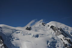 MONT BLANC Photographie stock