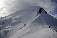 Mont Blanc, alpi Immagini Stock Libere da Diritti
