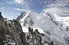 Mont Blanc Alps Stock Photos