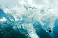 Mont Blanc Alps Massif Royalty Free Stock Image