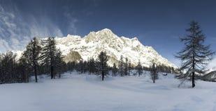 Mont Blanc, Aosta Vallley - Italy Royalty Free Stock Image