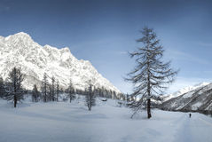 Mont Blanc, Aosta Vallley - Italy Royalty Free Stock Images