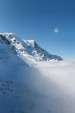 Mont Blanc, Chamonix Royalty Free Stock Photography