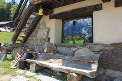 Mont Blanc Chamonix fotografía de archivo libre de regalías