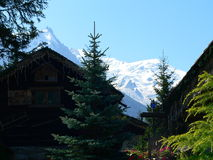 Mont Blanc, Chamonix ( France ) Royalty Free Stock Photos
