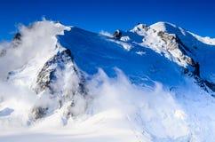 Mont Blanc, Chamonix-Mont-Blanc - Francia Fotografia Stock