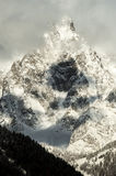 Mont blanc closeup Royalty Free Stock Photography