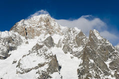 Mont blanc courmayeur 2 Royalty Free Stock Photos
