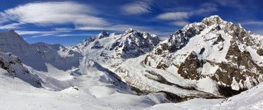 Mont Blanc de Courmayeur Immagini Stock