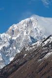 Mont Blanc de Courmayeur Fronte sudorientale massiccio della montagna Fotografie Stock