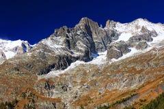 Mont Blanc et x28 ; 4810m& x29 ; dans le Haute Savoie, Frances, l'Europe Photographie stock