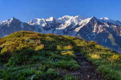 Mont Blanc, France Royalty Free Stock Photo