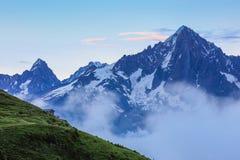 Mont Blanc, France Stock Image