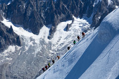 Mont Blanc Royalty Free Stock Image