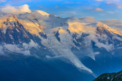 Mont Blanc, France Stock Images