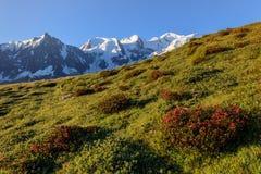 Mont Blanc, France Stock Photo