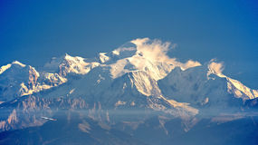Mont Blanc Peak Stock Photo
