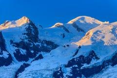 Mont Blanc, Frankreich Lizenzfreie Stockfotografie