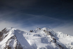 Mont blanc Royalty Free Stock Images