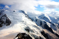 MONT-BLANC - French Alps Stock Image