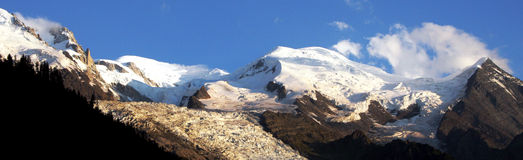 MONT-BLANC - French Alps Stock Photo