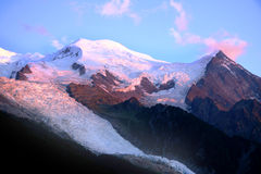MONT-BLANC - French Alps Royalty Free Stock Photography