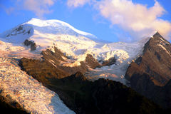 MONT-BLANC - French Alps Royalty Free Stock Photo