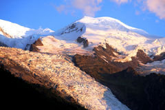 MONT-BLANC - French Alps Royalty Free Stock Image
