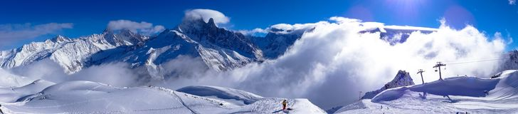 Mont Blanc, Frnace Image stock