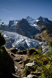 Mont Blanc glacier Royalty Free Stock Photos