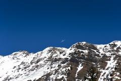 Mont Blanc & glidflygplan Sailplane Royaltyfri Fotografi