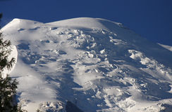Mont Blanc Royalty Free Stock Photos