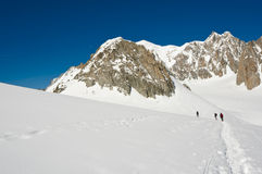 Mont Blanc Massif Stock Images