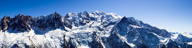 Mont Blanc Massif Royalty Free Stock Image