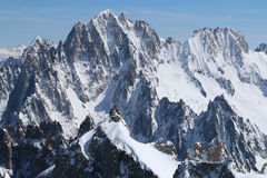 Mont Blanc Massif Stock Photo