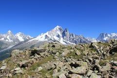 Mont-Blanc massif, Chamonix, France Stock Photography
