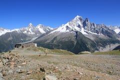 Mont-Blanc massif, Chamonix, France Stock Photo