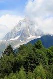 Mont-Blanc massif, France Stock Images