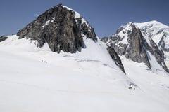 Mont Blanc Massif Stock Photos