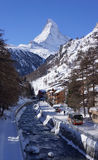 Mont Blanc of the Matterhorn Royalty Free Stock Photo
