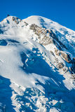 Mont Blanc, Mont Blanc Massif, Chamonix, Alps, France Stock Photography