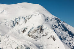 Mont Blanc, Mont Blanc Massif, Chamonix, Alps, France Royalty Free Stock Image