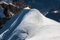 Mont Blanc, Mont Blanc Massif, Chamonix, Alps, France Stock Images